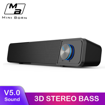 MiniBron Wireless Bluetooth Speaker Portable Bluetooth5.0 Speaker Wireless Speaker 4D Stereo Music Surround Speaker 1