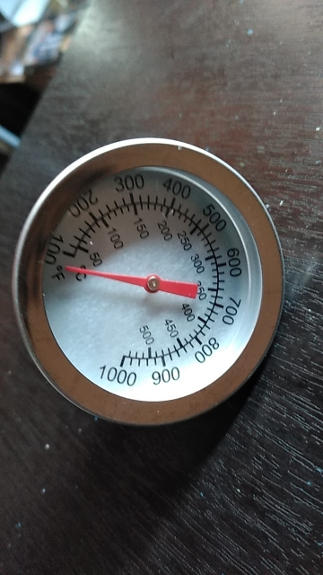Stainless Steel Barbecue Smoker Thermometer