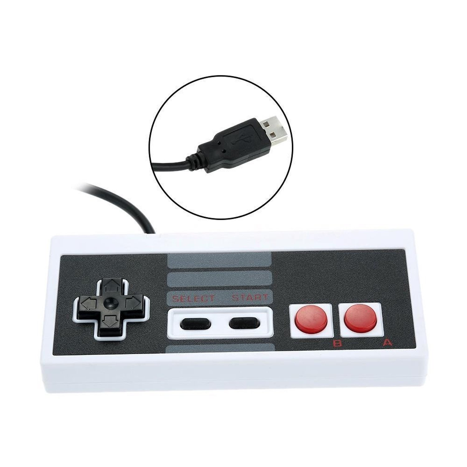 цены Retro Nintendo NES USB PC/MAC Controller-New! Plug n Play