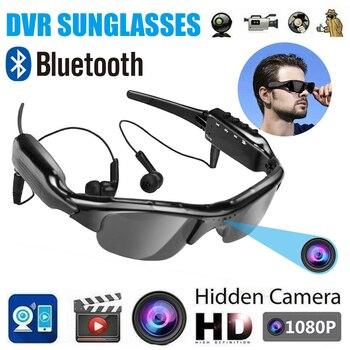 1080P Bluetooth Sun Glasses Eyewear Digital Video Recorder Glasses Camera Mini Camcorder Video Sunglasses DVR with earphone 1