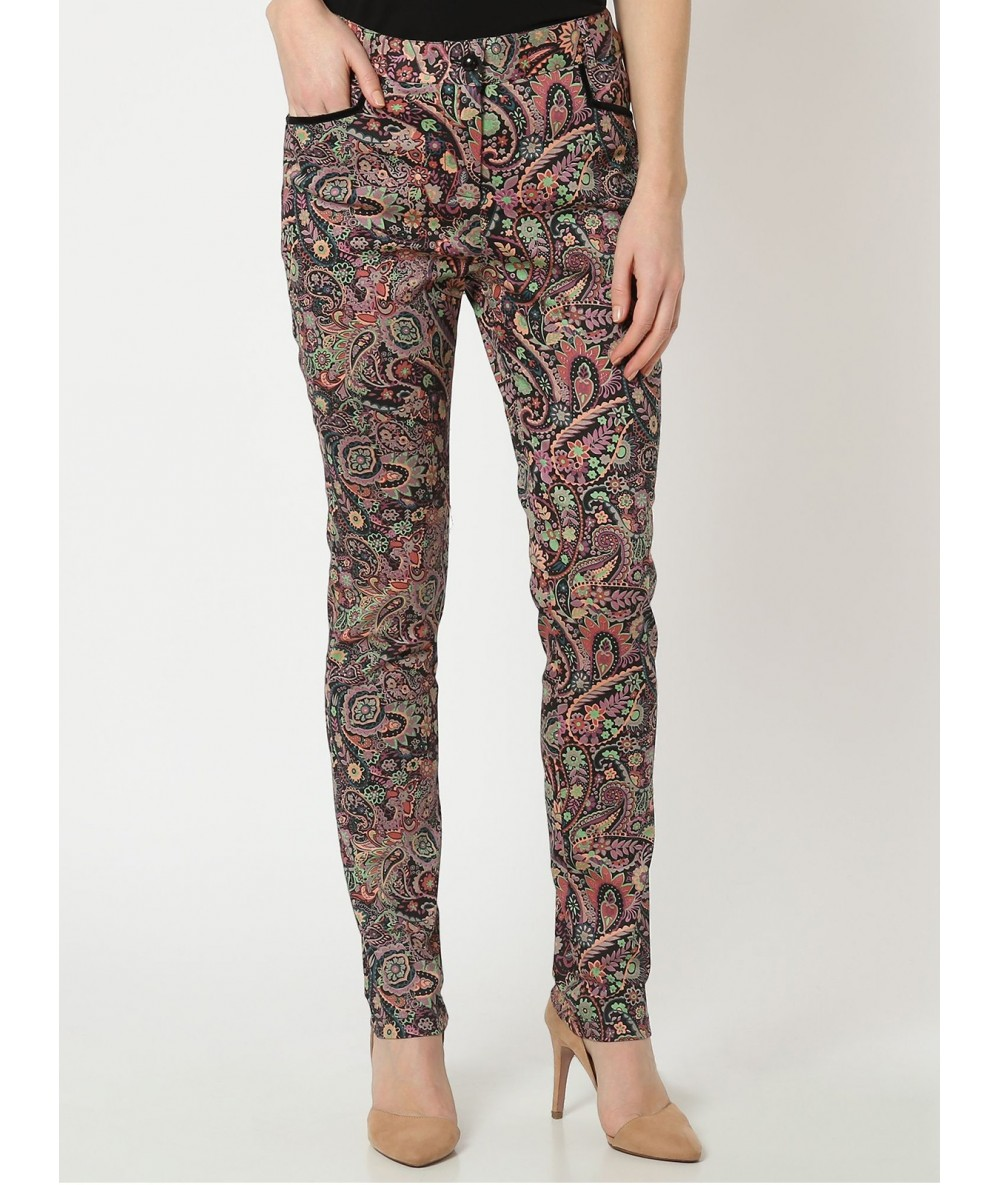 Print Trousers Cashmere Káhyra