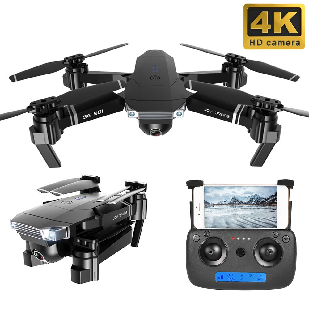 2020 New SG901 Quadrocopter Camera Drone 4K HD Dual Camera 50X Zoom Gesture photo  Follow Me FPV Professional  Toy For Kid