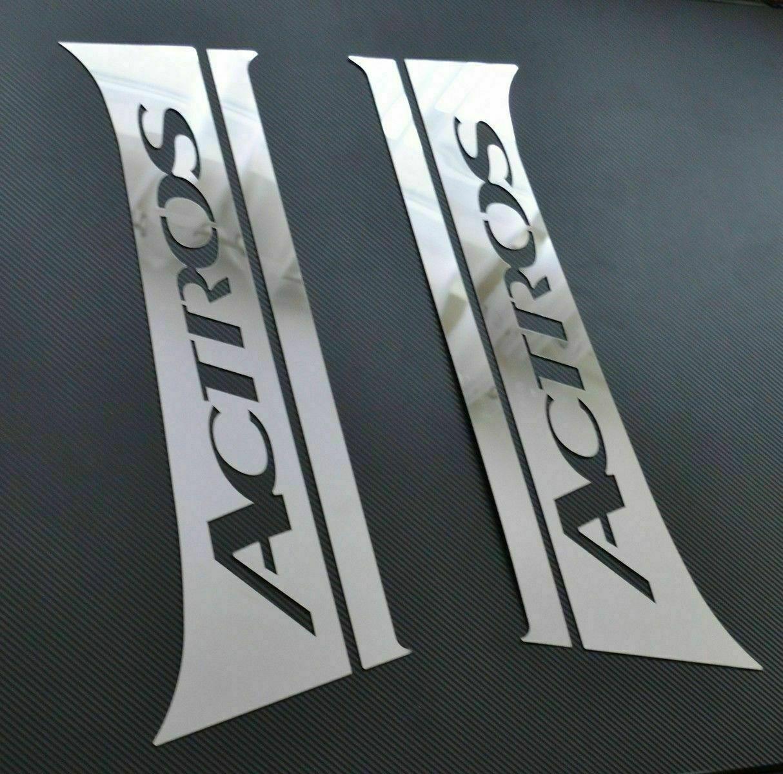 For Mercedes ACTROS MP4 2013+ Chrome Door Pillar Trim 2 door 4 pieces S.Steel