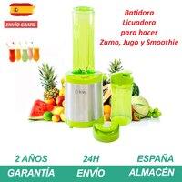 과일 병 블렌더 220-240 V 330W 녹색 색상 스무디