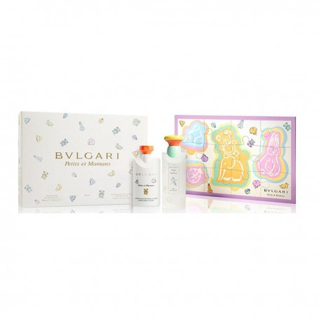 BVLGARI PETITS ET MAMANS WITH ALCOHOL 100ML + BODY LOTION 75ML + PUZZLE