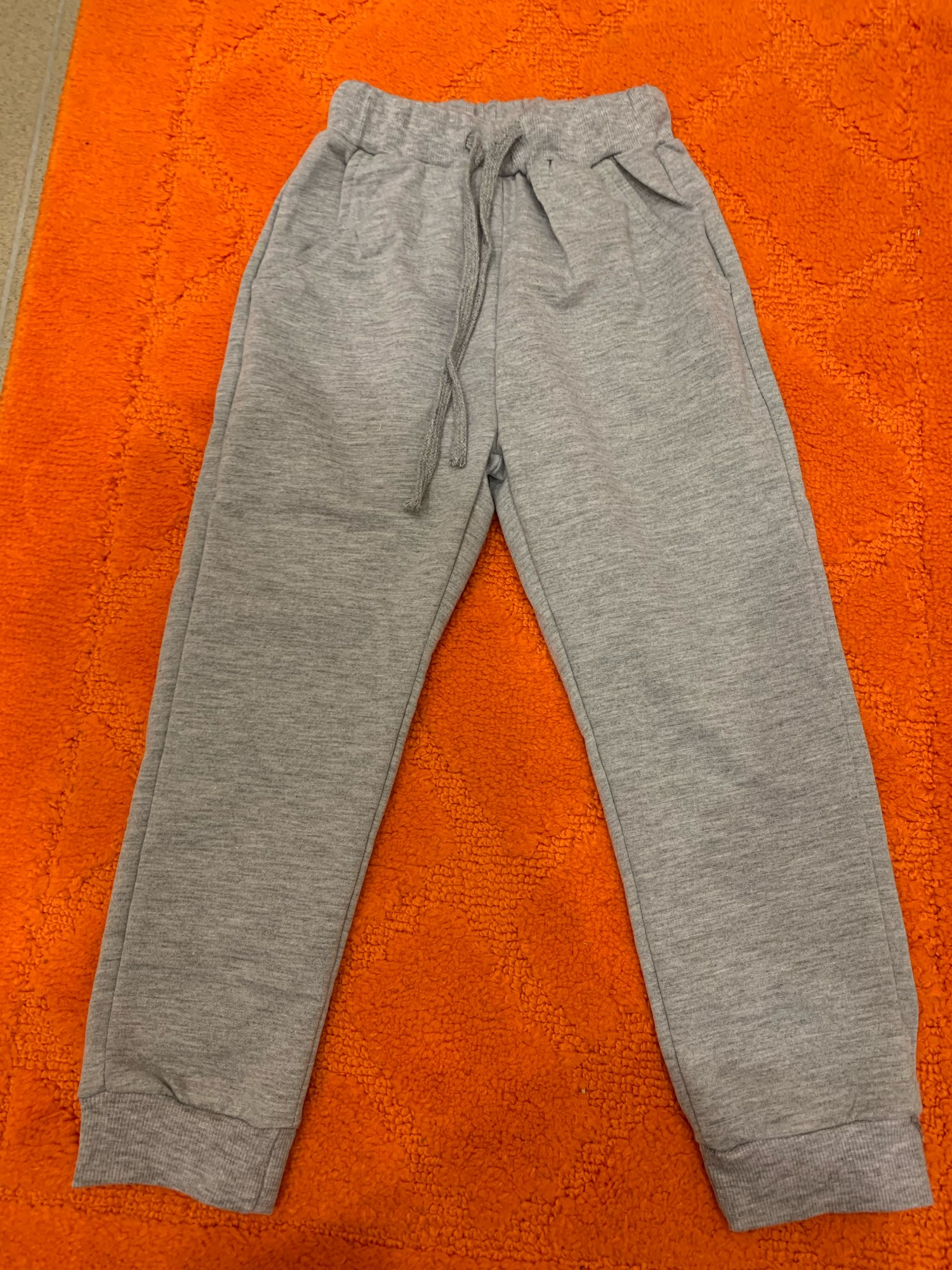 New Retail Sale Cotton Pants For 2-10 Years Old Solid Boys Girls Casual Sport Pants Jogging Enfant Garcon Kids Children Trousers photo review