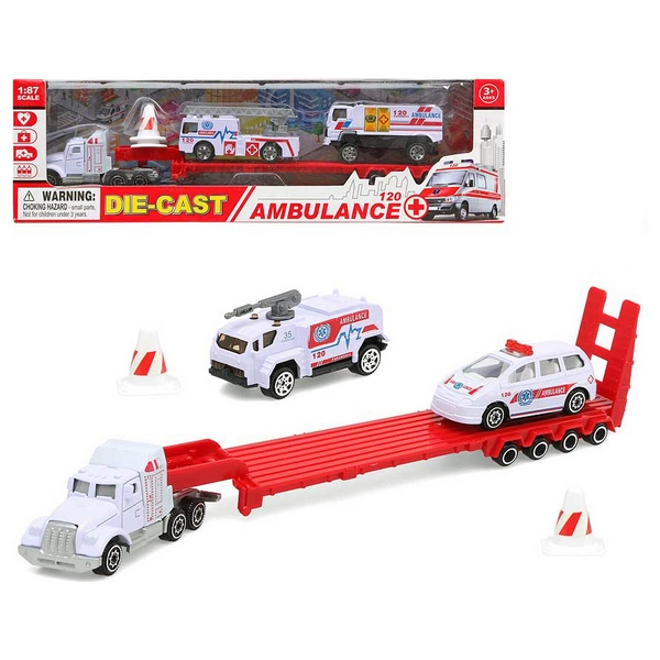 Vehicle Carrier Truck Ambulance 117387