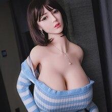 170 см реальный TPE секс куклы для взрослых полный полости рта, куклы для любви Реалистичная секс-игрушки большая грудь влагалища огромная игр...