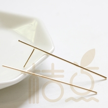 Earring-Post Pin-Round-Bar with 50x0.9mm 4331C Hand-Soldered Brass Hand-Soldered