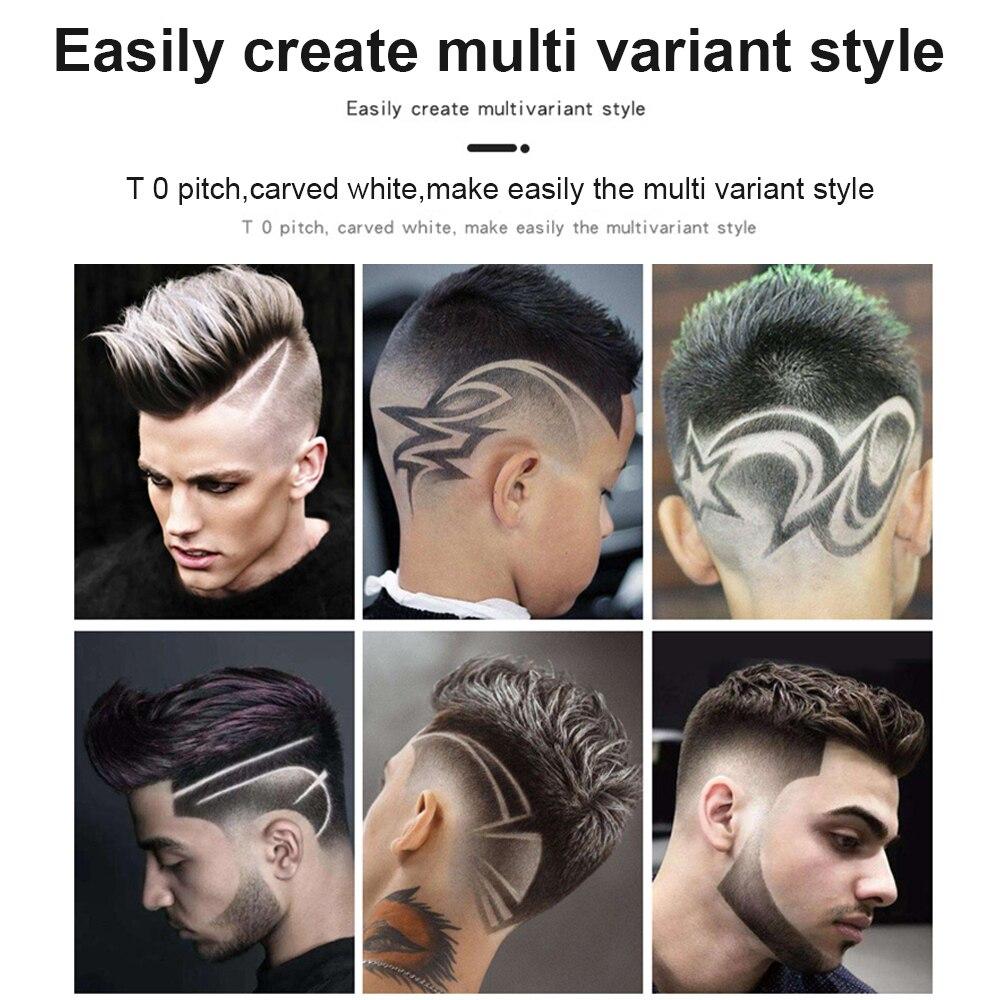 T-cortador de cabelo e rosto, aparador de