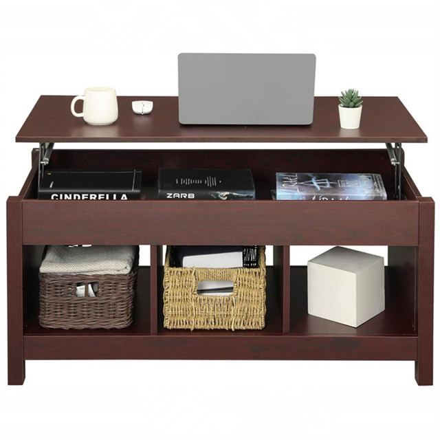 Coffee Table w/ Hidden Storage Compartment  4