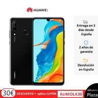 Huawei p30 lite (4 gb de ram duro, 128 gb de rom dura, google, android, postado, livre) [versão espanhola do telefone móvel] quadrado espanha, móvel, dispositivo piscando