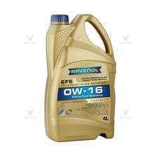 Моторное масло RAVENOL EFE Extra Fuel Economy SAE 0W-16 4 л