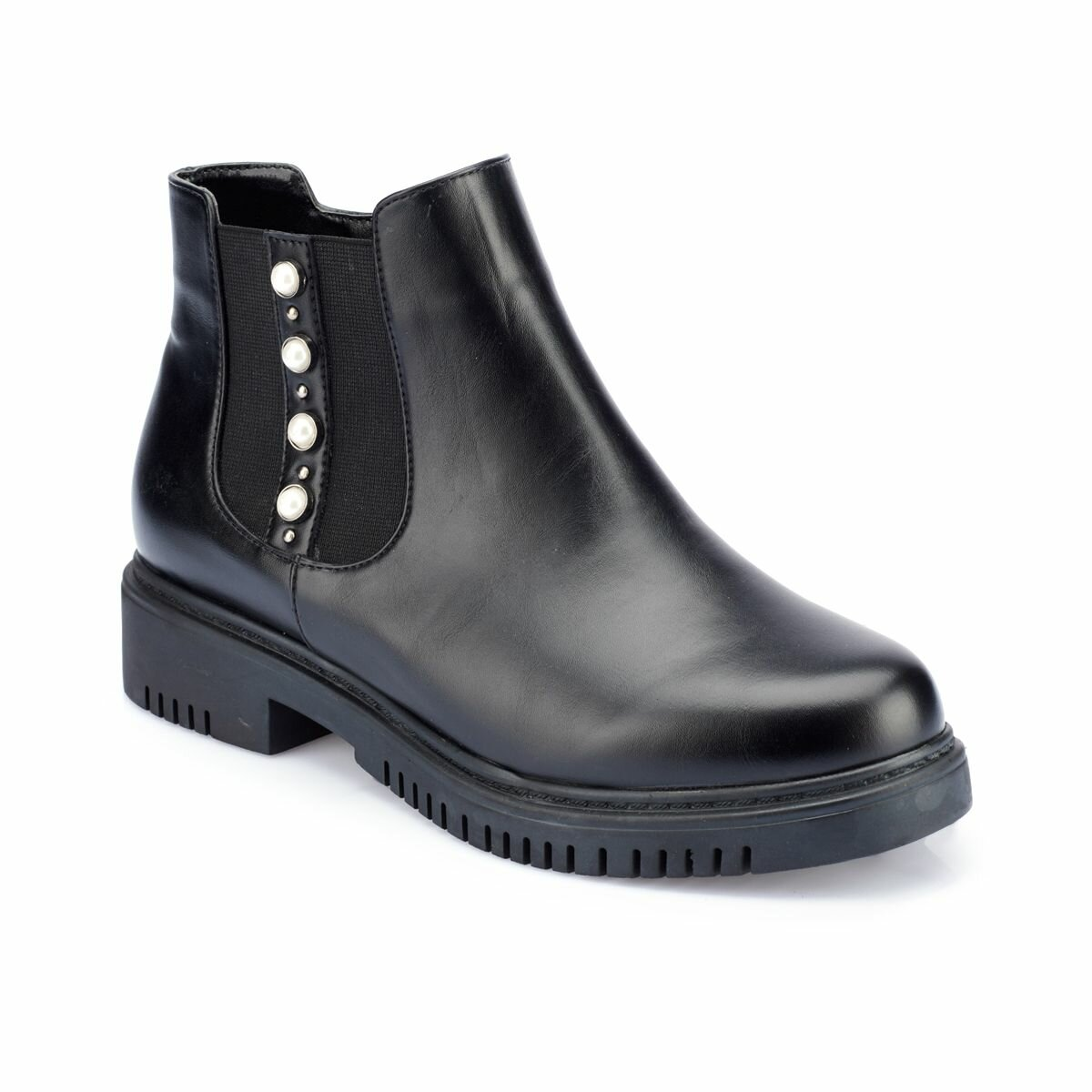 FLO 82.312307.Z Black Women Boots Polaris