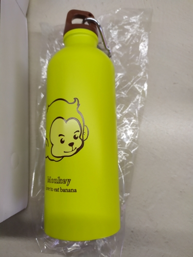 500ml Cartoon Animals Water Bottle Portable Outdoor Hiking Camping Sports Bottle Stainless Steel School Office Insulation Bottle|Water Bottles| |  - AliExpress