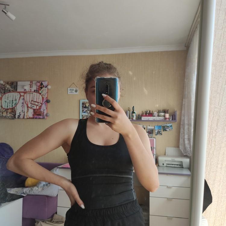 Women Compression Garment Yoga Tank Top photo review