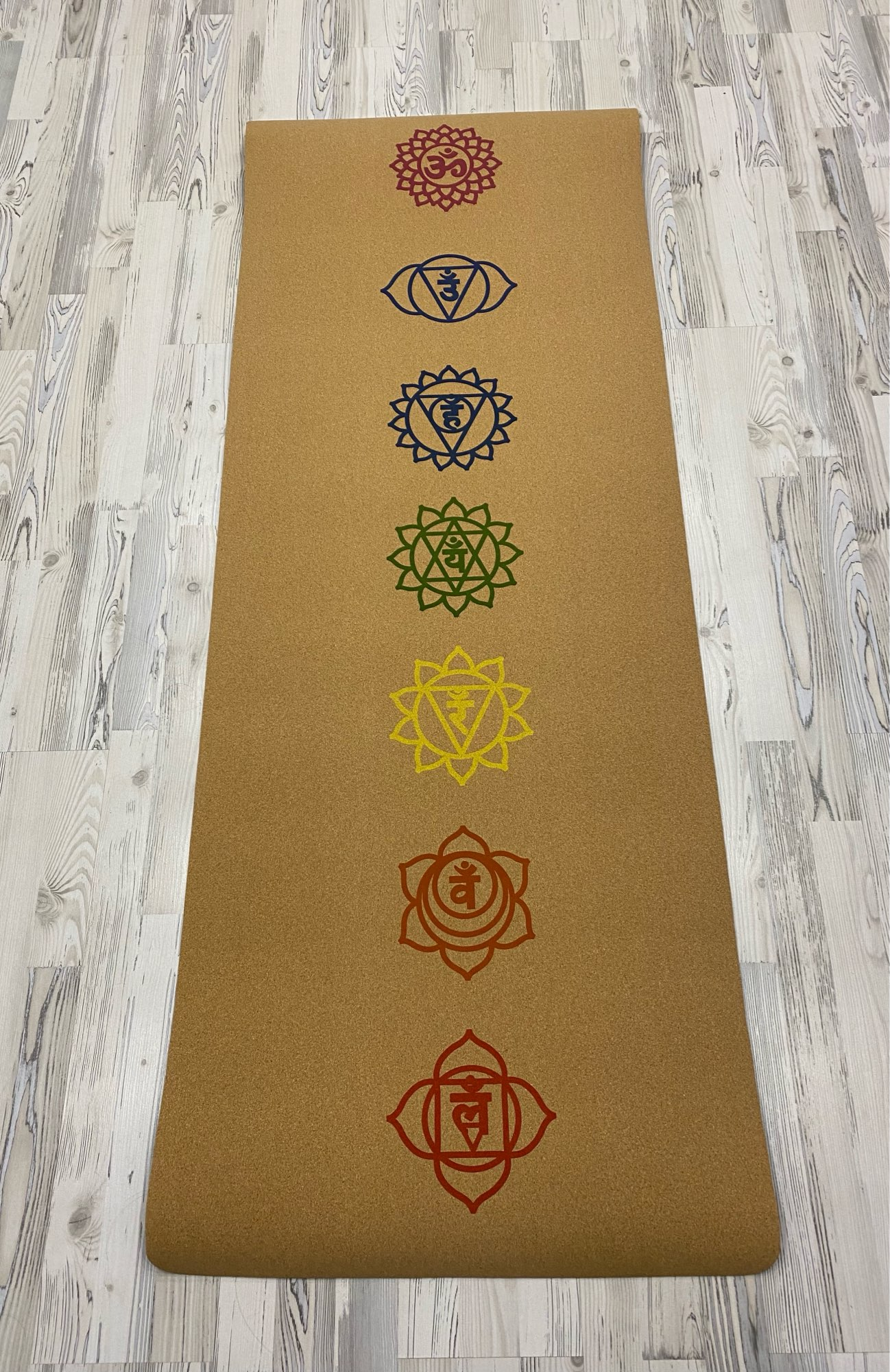 Natural Cork Yoga Mat photo review