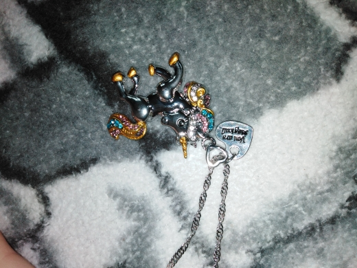 Cute Unicorn Necklace - twinklus photo review
