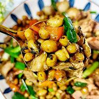 腊八豆炒肉的做法图解12