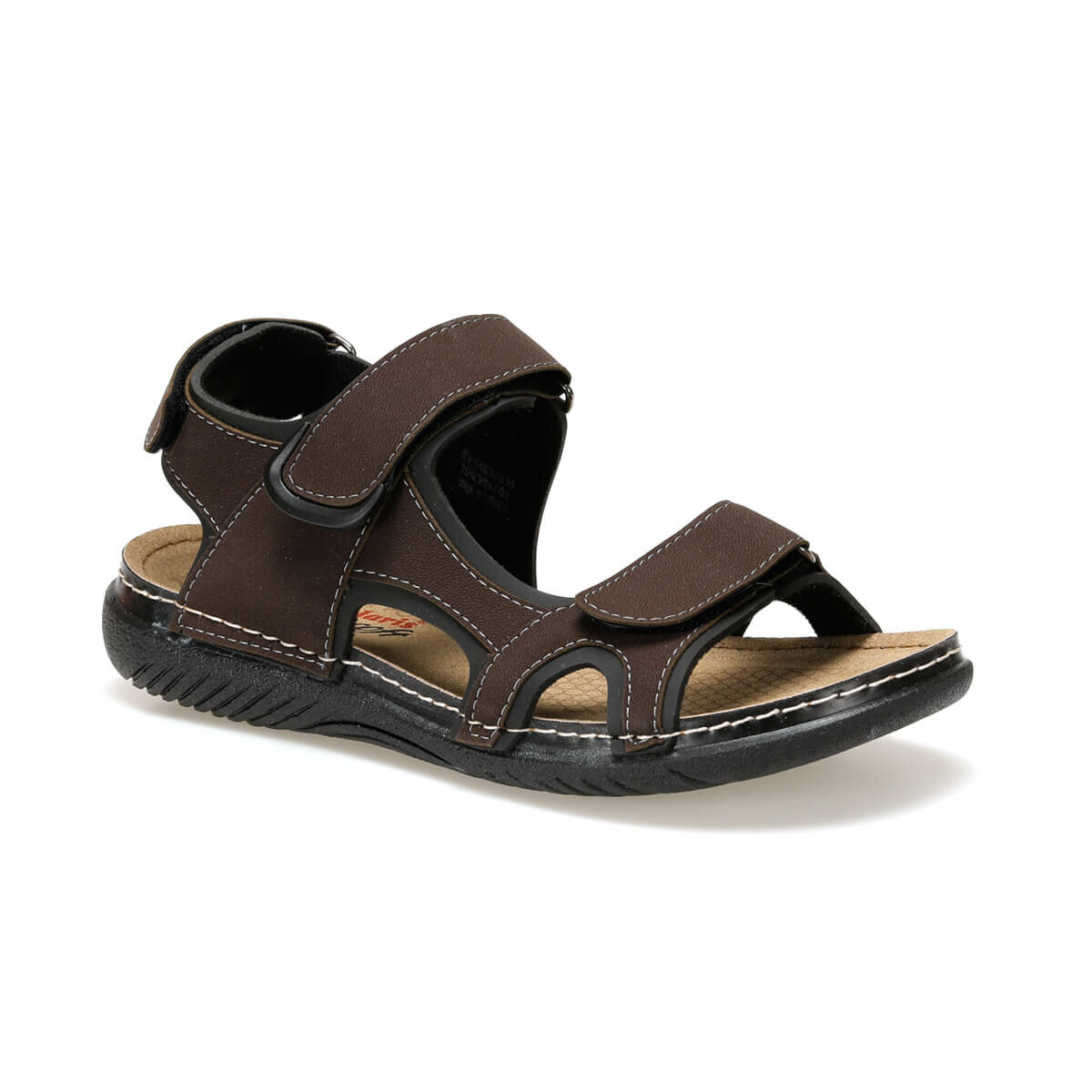 FLO 91. 150579.M Black Male Sandals Polaris