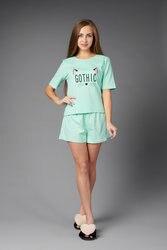 Atoff hause pyjamas weibliche ZHP 033/1 (mint mit erbsen)