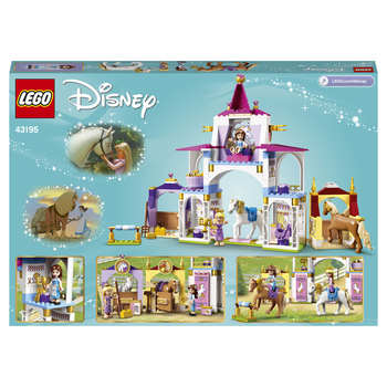 Конструктор LEGO Disney Princess Королевская конюшня Белль и Рапунцель 3