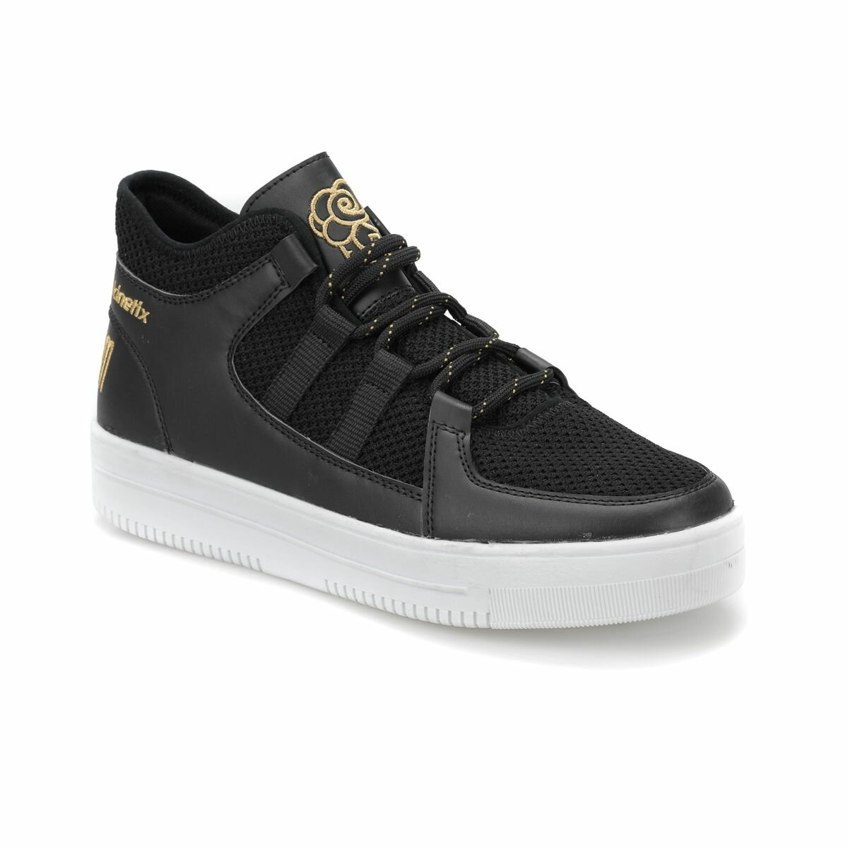 FLO GAZAPIZM Black Women 'S Sneaker Shoes KINETIX