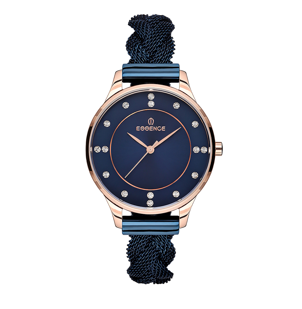 Women's Watches Es6450fe. 990 On Steel Bracelet With IP Coating With Mineral Glass Sunlight