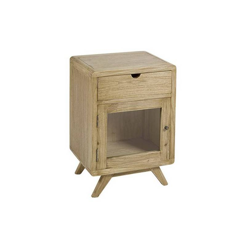 Nightstand Wood Mindi Playwood (45x35x65 Cm)