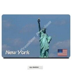 Souvenir Vinyl magnet New York USA (size: 54x86mm). Free shipping.