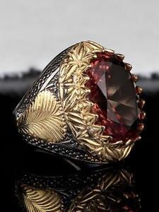 Handmade Mens Silver Zultanite Ring, Man 925 Silver Handmade Oval Zultanite Ring