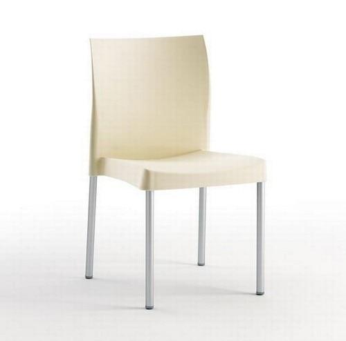 Chair SANDRA, Aluminum, Polypropylene Beige *