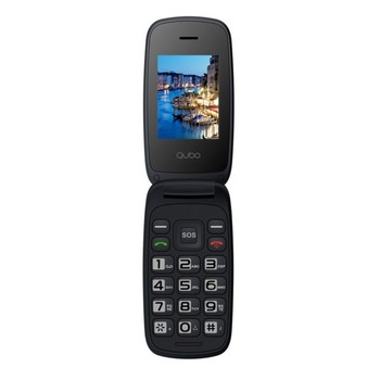 Shell phone Qubo Neo older people screen 2,4