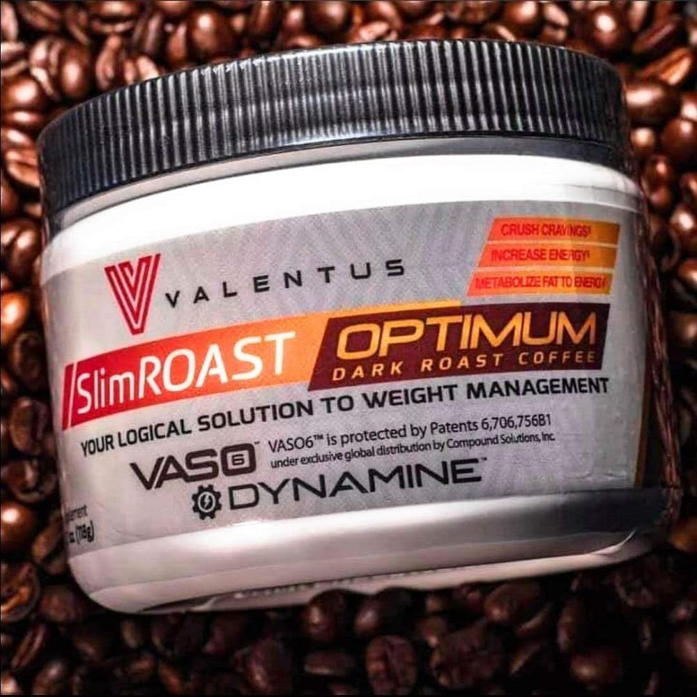 VALENTUS COFFE | Valentus Slim Roast Optimum Coffee 30-D | Suppressor Appetite | Lose Weight | Valentus SlimRoast Optimum