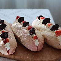 火龙果魔法棒面包的做法图解16