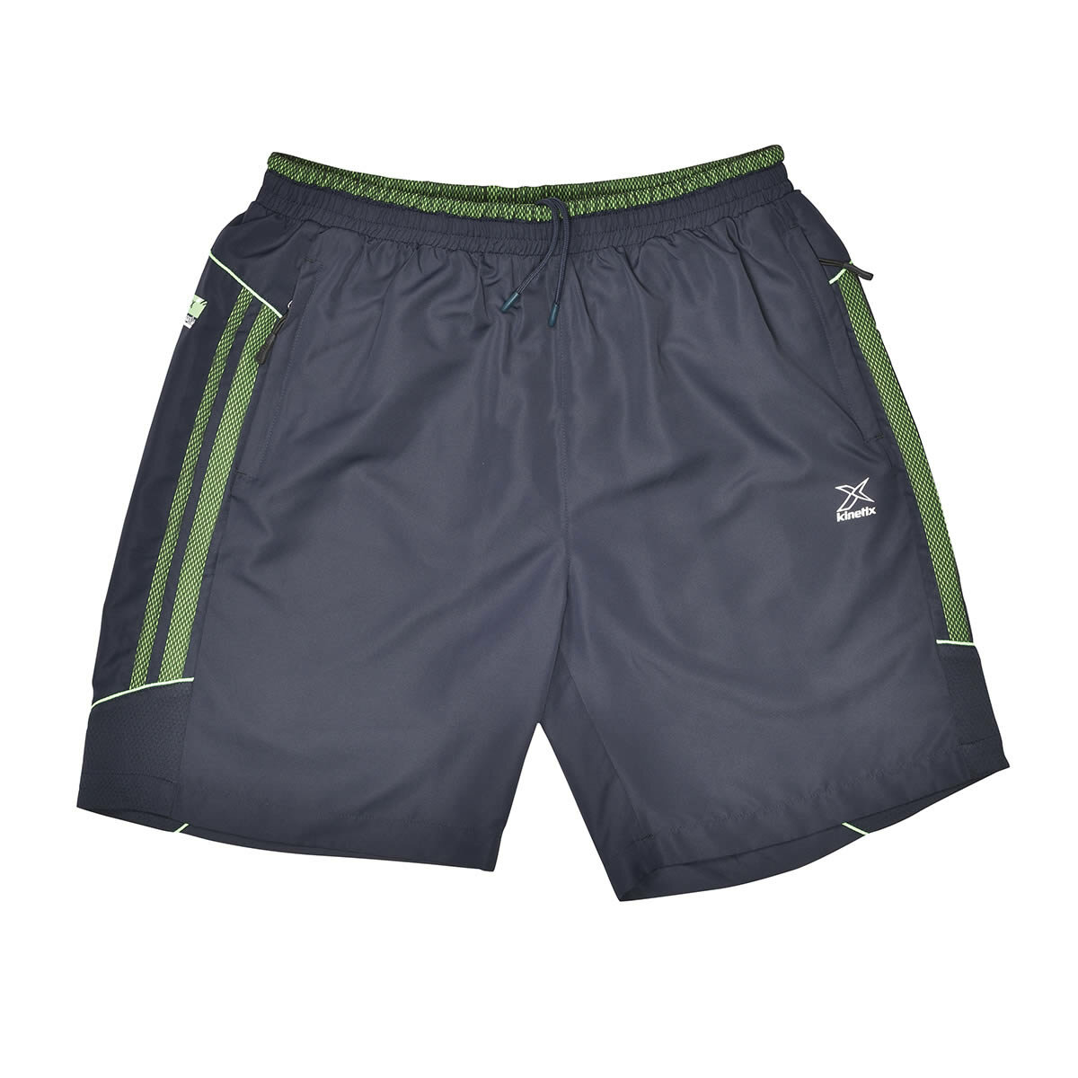 FLO A5131006 Navy Blue Male Long Shorts KINETIX