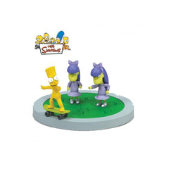 The Simpsons Movie toy Doodle Double Dare Box Set Bart Skating with motion and sound 21cm