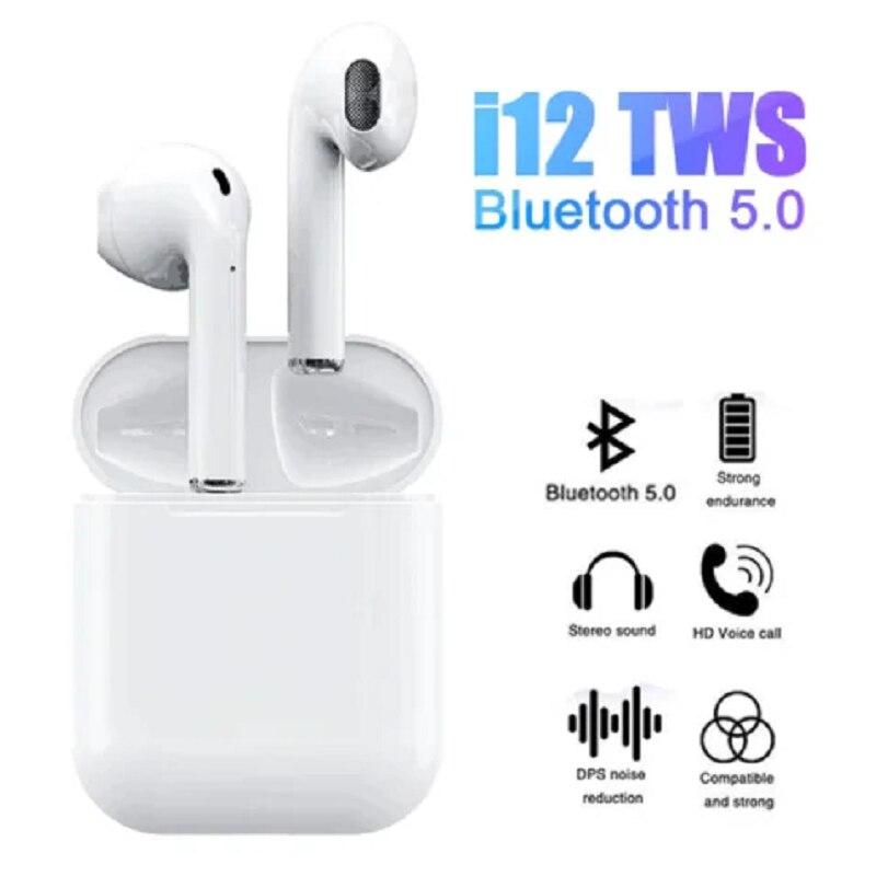 AirPods Wireless Headphone I12 TWS High Quality Original Bluetooth 5.0 Wireless Headset