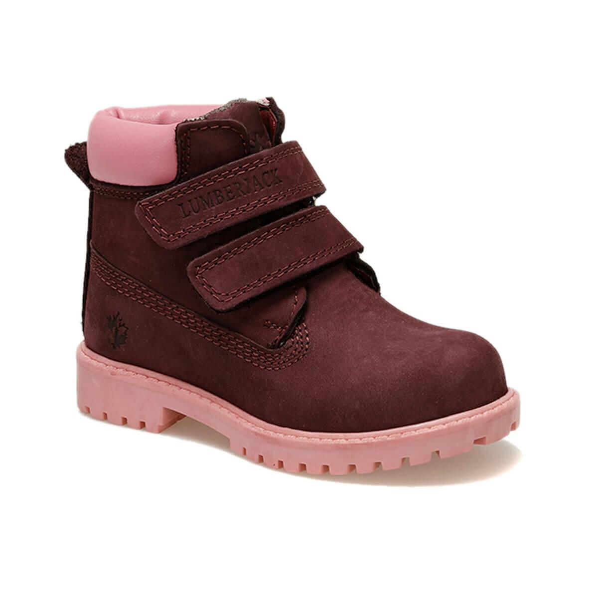 FLO RIVER 9PR Pink Female Child Boots LUMBERJACK
