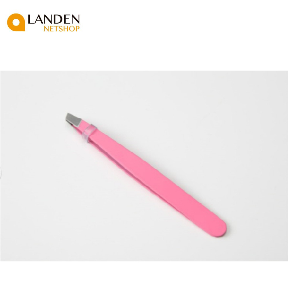 1 PCE Tweezers Pink, Beauty, Shooter Inclined Brooches For Eyebrows, Makeup Tool For Hair Removal
