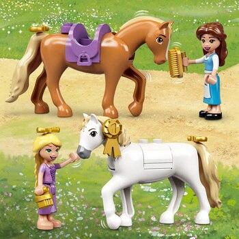 Конструктор LEGO Disney Princess Королевская конюшня Белль и Рапунцель 5