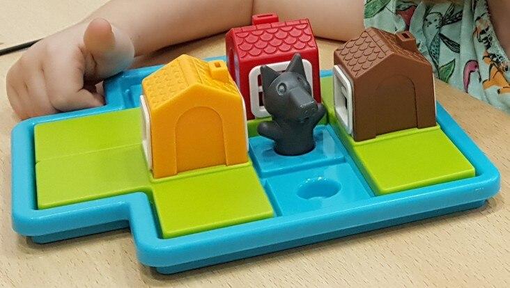 Quebra-cab. Solução Brinquedos Treinamento