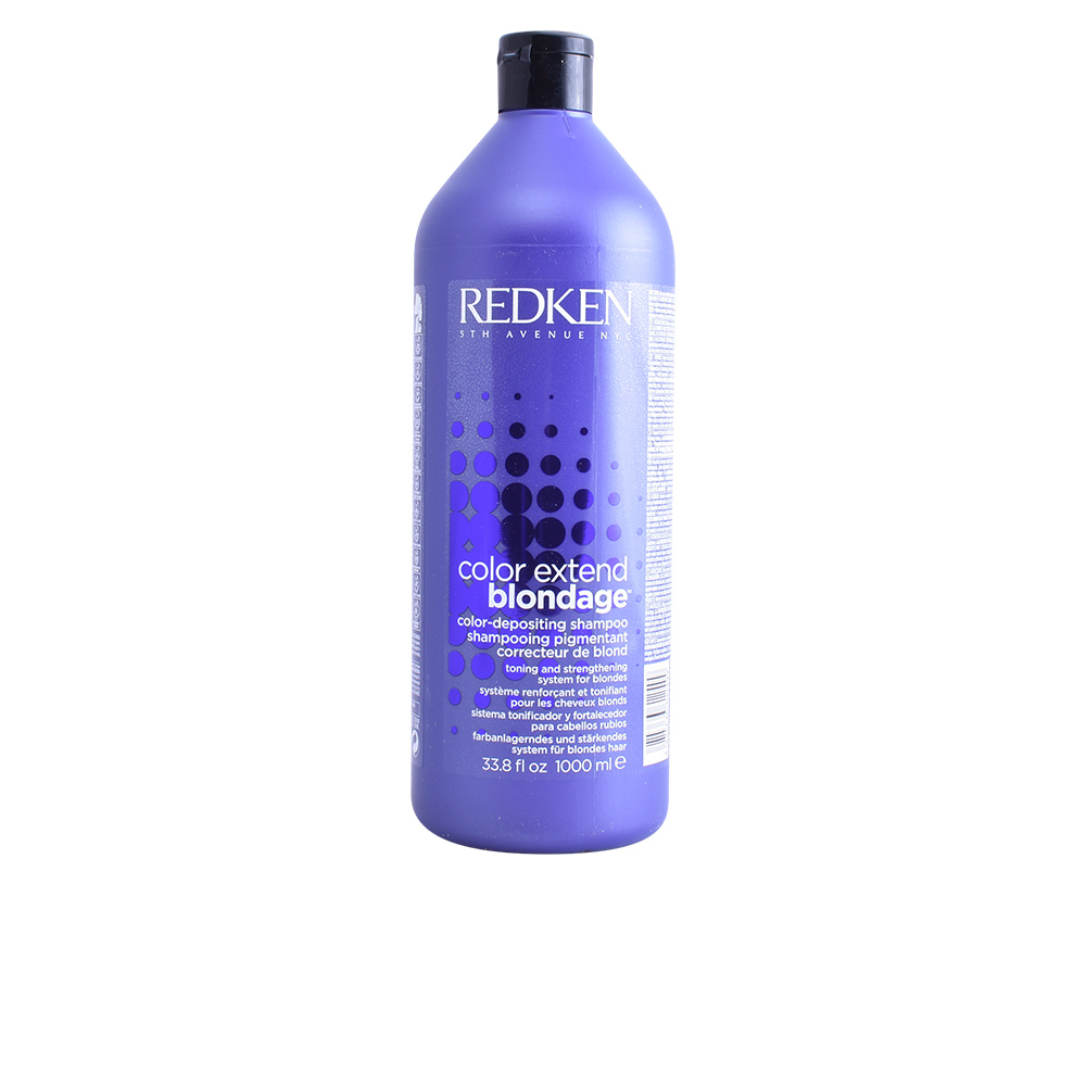 Tinting Shampoo For Blonde Hair Color Extend Redken (1000 Ml)