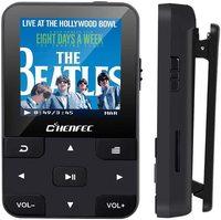 Bluetooth 5.0 MP3 Player 32GB Della Clip di Sport Portatile MP3 Lettore Musicale con Radio FM, Registratore Vocale, carta di DEVIAZIONE STANDARD di sostegno fino a 128GB
