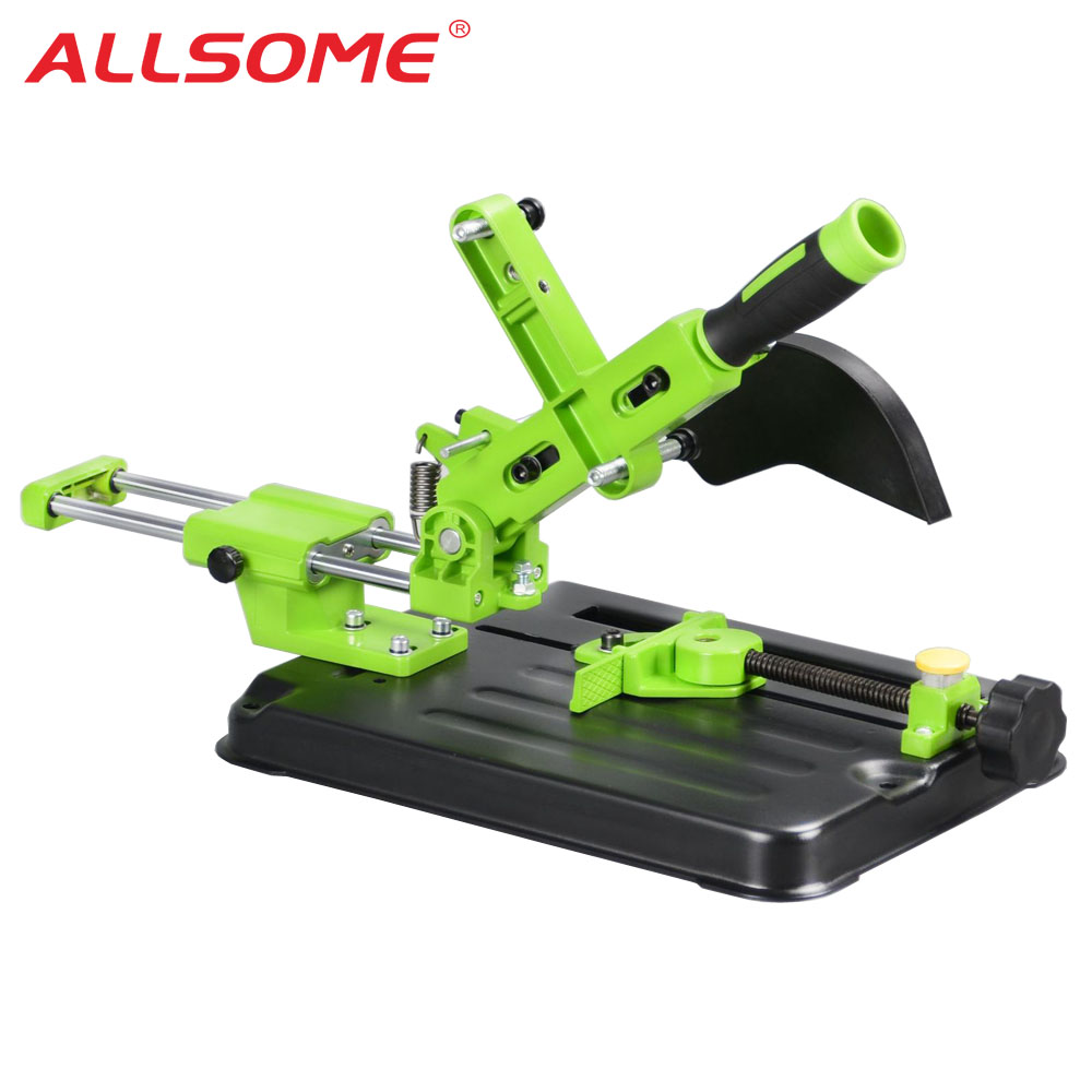 ALLSOME BG612506 Universal Angle Grinder Stand Angle Grinder Holder Woodworking Tool DIY Cut Stand Grinder For 110mm 115mm 125mm