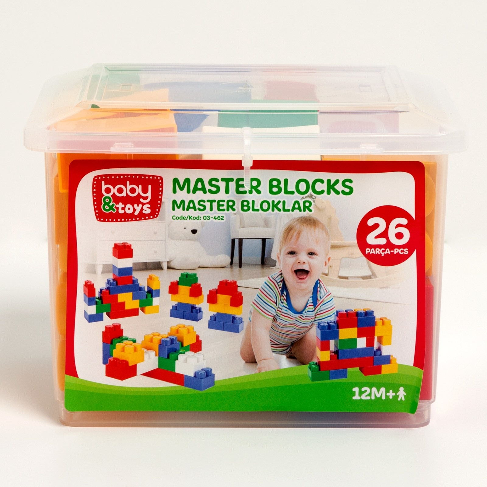 Ebebek Baby&toys Baby Master Blocks 26 Pieces