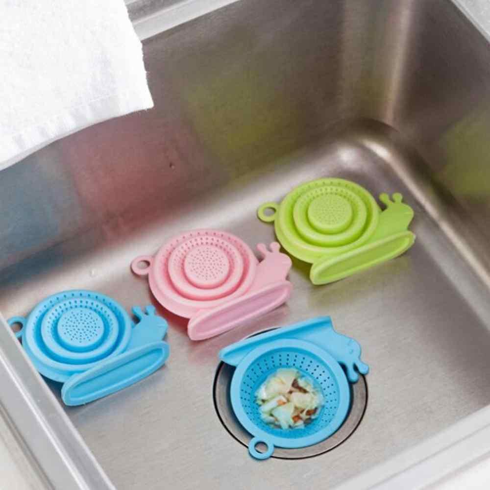 أدوات المطبخ اكسسوارات جولة سيليكون غطاء للصرف حوض مصفاة حوض تصفية دش الشعر الماسك سدادة التوصيل المطبخ أداة
