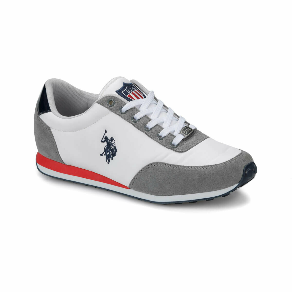 FLO PACIFIC White Men 'S Sneaker Shoes U.S. POLO ASSN.