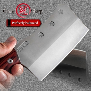 Image 4 - Cleaver Knife Hand Forged Mini Chef Kitchen Knives BBQ Tools Butcher Meat Hatchet Outdoor Camping Home Cooking Christmas Gift