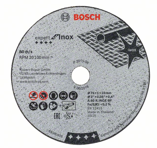 Circle Cutting BOSCH 76х1х10 (2.608.601.520)